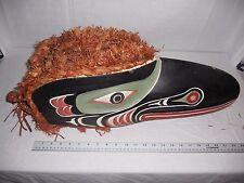 Pacific Northwest Indian Kwakiutl and Bella Coola Raven, Beaver and Hawk Masks