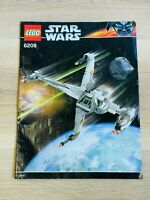 LEGO - INSTRUCTIONS BOOKLET ONLY - STAR WARS 6208 - B-wing Fighter
