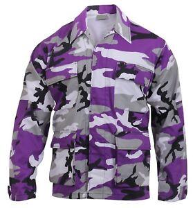 Rothco 7910/5963/7913/8870/8890 Color Camo BDU Shirt