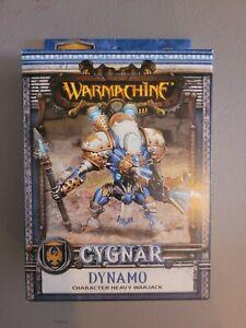 Warmachine - Cygnar: DYNAMO Character Heavy Warjack Miniature - New in Box
