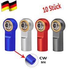 DE Für 1:10 RC Modellbau trx4 SCX10 Kugelkopf Kugelgelenk Kugelköpfe M4 CW 10PCS