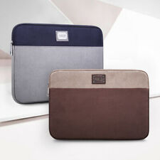 "New 2019 For 16"" MacBook Pro Laptop Case Sleeve Bag  Brown Grey Notebook Bag"