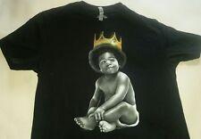 Classic Material Streetwear King Of New York Notorious BIG Album Black T-shirt