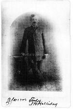 Doc Holliday Prescott Arizona Marshall Wild West Lawman Reprint 7x5 Inch Photo