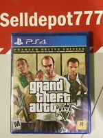New Grand Theft Auto V Premium Online Edition - PlayStation 4 Standard Edition