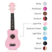 disney minnie mouse soprano ukulele pink ukelele bag music instrument ebay. Black Bedroom Furniture Sets. Home Design Ideas