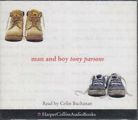 Man and Boy Tony Parsons 3CD Audio Book Colin Buchanan Abridged FASTPOST
