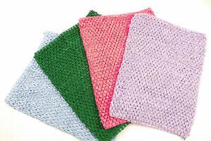 Crochet Fishnet Tube Skirt One Size UK 8-14 Stretch Over Leggings Beach Cover Up