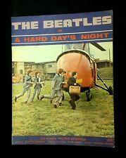 The Beatles A Hard Day's Night Movie Souvenir Program - 1964 - RARE!