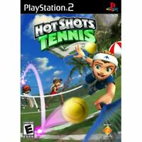 Hot Shots Tennis For PlayStation 2 PS2 Very Good 6E
