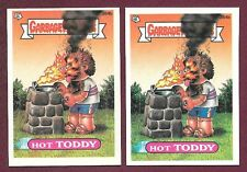 1987 GPK Garbage Pail Kids Series 10 384b Hot Toddy With or W/O White Box