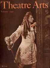 THEATRE ARTS MAGAZINE 1947 FEB JAMES STEWART, CLAIRE TREVOR, CHRISTOPHER BLAKE