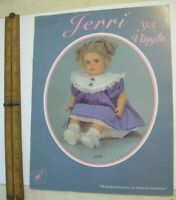 Dolls By Jerri 1993 Trade Samples CATALOG  * Vinyl models outfits North Carolina