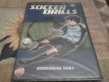 dvd soccer drills individual skill new sealed football skills training
