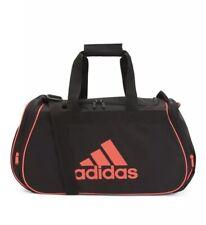 """NWT Adidas Duffle Medium Bag Gym Fitness Travel Yoga Black Blue Duffle Bag 25"""""""