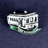 San Francisco Tram Train Transport Souvenir Pin Lapel Badge Hat Pin America USA