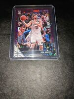 2019-20 NBA Hoops Premium Stock Purple Disco Prizm Davis Bertans