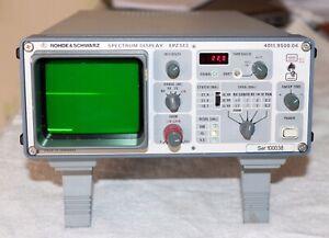 Rohde Schwarz Spectrum Display Unit EPZ513, SDU, 4011.9500.04 EPZ-513