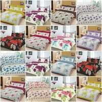 Duvet Cover with Pillow Case Bedding Set Quilt Cover Single Double King S King