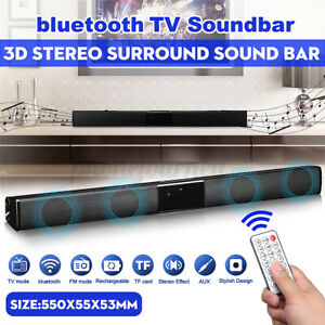 Wireless bluetooth Soundbar Speaker TV Home Theater Subwoofer Stereo with Remote