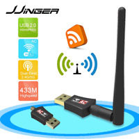 AC600 Mbps Dual Band 2.4/5Ghz Wireless Internet USB WiFi Network Antenna Adapter