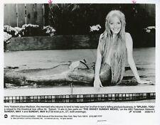 AMY YASBECK CUTE SMILING PORTRAIT MERMAID SPLASH TOO ORIGINAL 1988 ABC TV PHOTO