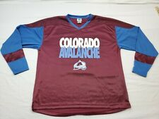 Colorado Avalanche Long Sleeve NHL Jersey Type Shirt XL