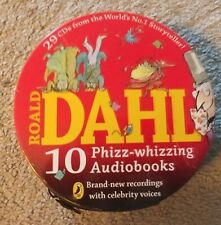 Roald Dahl - 10 Phizz Whizzing Audio Books U.K. 2013 29 CD set - rare in U.S. gd