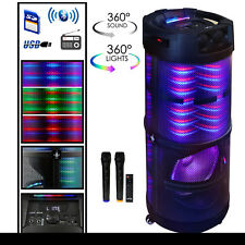 beFree Sound Rechargeable Bluetooth Portable Party Speaker With 360 Degree Sound
