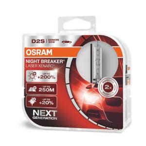 2x D2S OSRAM -NEXT GENERATION -LASER NIGHT BREAKER EDITION 2021200% mehr Hellig