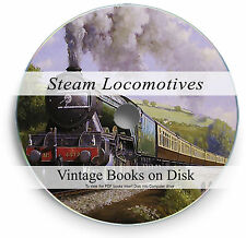 Rare Hand Books Steam Trains Locomotives DVD Railway Engine Power Bradshaw's 255