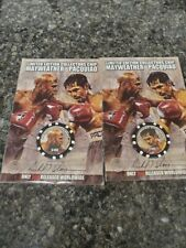 Mayweather vs Pacquiao Limited Edition Boxing Chip by Richard T. Slone