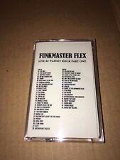 DJ Funkmaster Flex Live at Planet Rock Part 1 90s NYC Hip Hop Cassette Mixtape