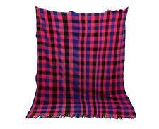 Moroccan Vintage Handira Blanket 5x7 Azilal Berber Morocco Traditional Carpet