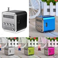 ortable Micro SD TF USB Mini Stereo Bass Speaker Music Player FM Radio PC MP3/4
