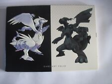 Pokemon Black and White Game Art Folio Set of 15 Cards