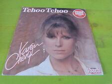 "KAREN CHERYL - Tchoo tchoo - VINYLE 45T - 7"" !!! Disque rouge !!!"