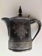 Vintage Meriden Company Tea Pot late 19 Century