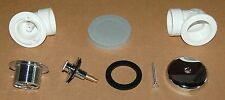 New listing New Ab&A 1 Hole Overflow Half Kit Turn Top Drain Stopper 1310 / 62059 Aba1310
