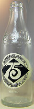 75th Anniversary COKE COCA-COLA Bottle 10 oz San Francisco EMPTY 1905 -1980