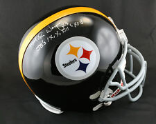Mike Wagner SIGNED Pittsburgh Steelers F/S Helmet + SB PSA/DNA AUTOGRAPHED