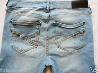 River Island Ladies Jeans Size 6 R super skinny  Follow Your Dreams light 26/31
