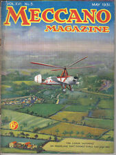 Meccano Magazine May 1931 Autogiro Fokker Hornby Flying Boats Ford Dagenham +