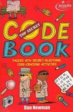 Top Secret Code Book by Dan Newman BRAND NEW BOOK (Paperback 2012)