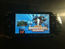 New listing Sony Psp-1001 PlayStation Portable Psp With a lot of games