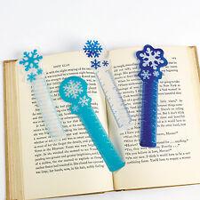 24 Christmas Snowflake Bookmarks FROZEN PARTY WINTER STOCKING STUFFER favor bag