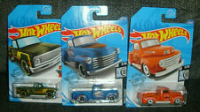 2020 Hot Wheels Lot 3 Trucks '52 Chevy '69 Chevy '49 Ford Diecast