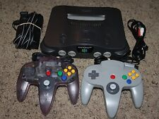 Nintendo 64 N64 Console Complete 2 Controllers (GOOD STICKS) Cords Super Bundle