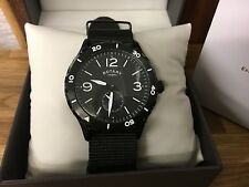 Gents Rotary Sports style Watch with spare nylon strap RRP £169 GS03074/19/kit