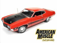 AUTO WORLD 1:18 AMERICAN MUSCLE 1970 FORD TORINO COBRA TWISTER SPECIAL AMM1112